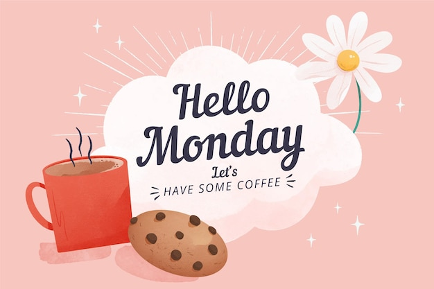 Poniedziałek - tło