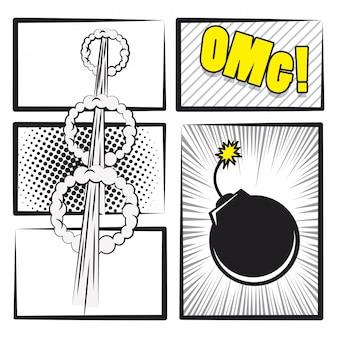 Pop-art i bajki komiksowe