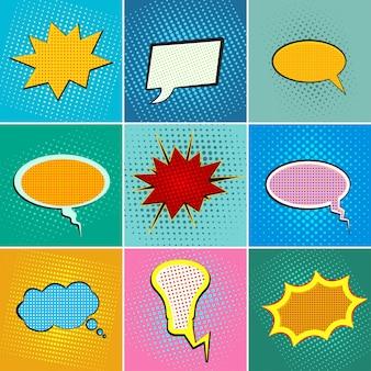 Pop-artowe bańki mowy