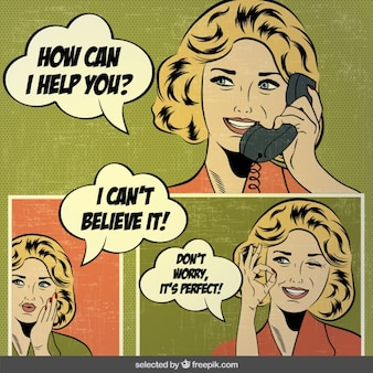 Pop komiksy sztuki z kobietami