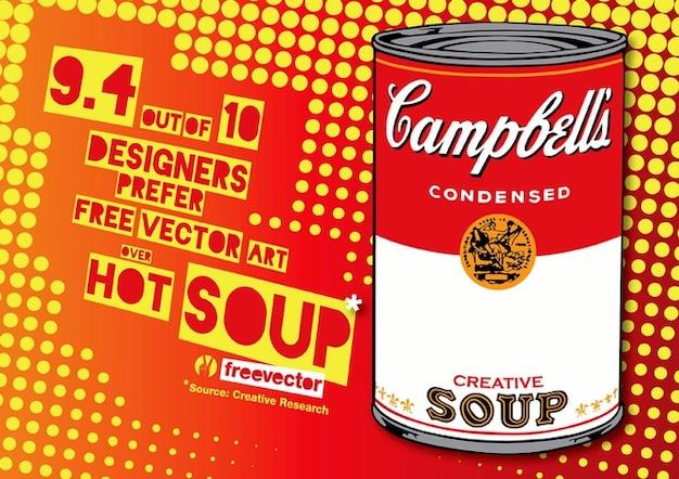 Pop zupa sztuki