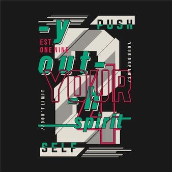 Popchnij się w graficzną typografię