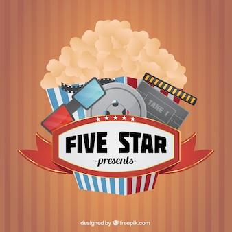 Popcorn z elementami cine
