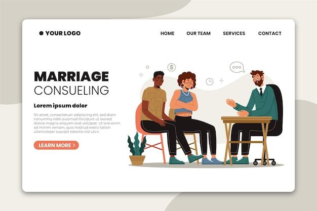 Poradnictwo małżeńskie - strona docelowa