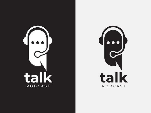 Porozmawiaj o koncepcji projektu logo podcastu