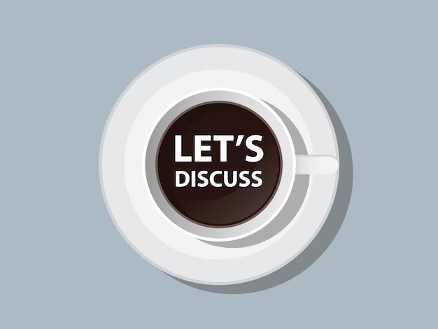 Porozmawiajmy razem z filiżanką kawy