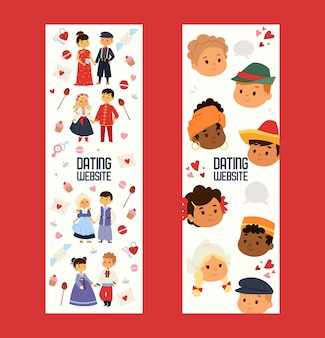 Portal randkowy z dziećmi różnych narodowości