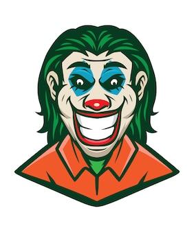 Portret klauna
