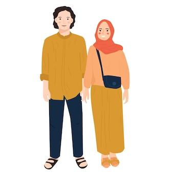 Portret młodej pary