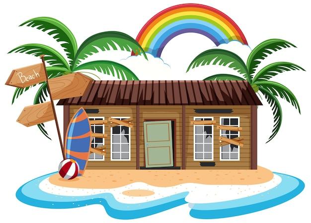 Porzucić dom na bezludnej wyspie
