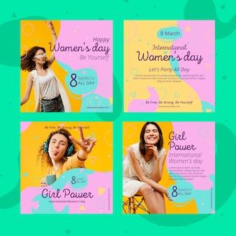 Post na instagramie z okazji międzynarodowego dnia kobiet