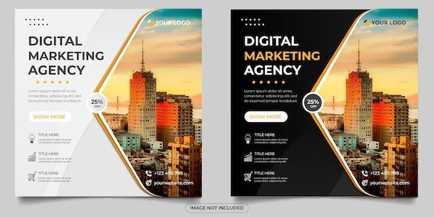 Post w mediach społecznościowych z agencji marketingu cyfrowego