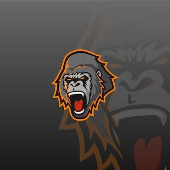 Postać e-sportowa gorilla