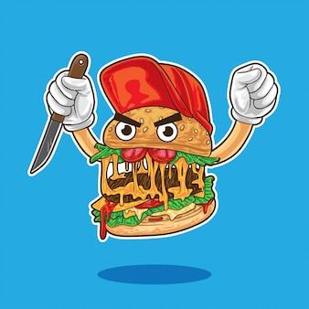 Postać hamburger