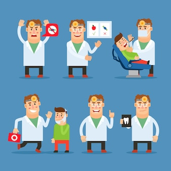 Postać lekarza dentysty