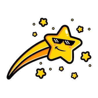 Postać spadającej gwiazdy