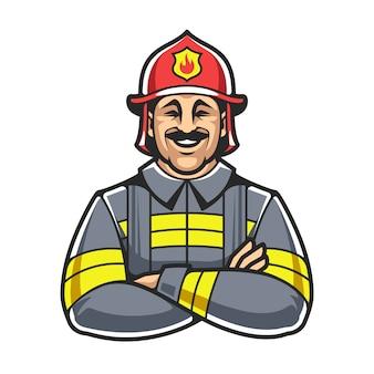 Postać strażaka