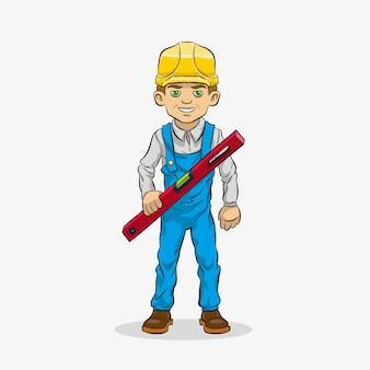 Postać z kreskówki konstruktora