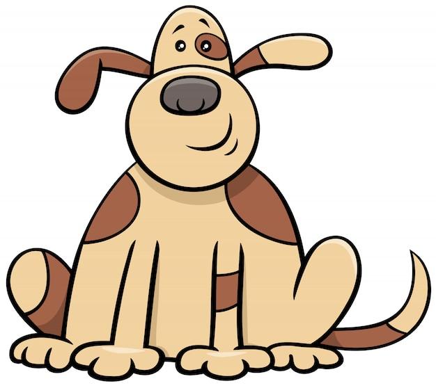 Postać z kreskówki pies komiks zwierząt