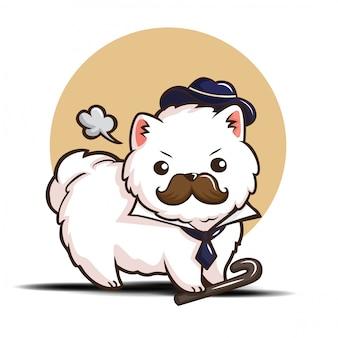 Postać z kreskówki pomorskiego psa