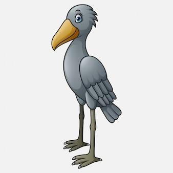 Postać z kreskówki shoebill