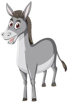 Postać z kreskówki zwierząt osła