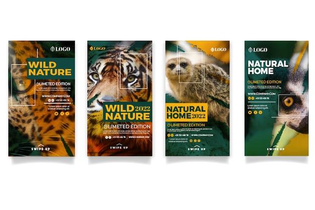 Posty na instagramie dzikiej przyrody