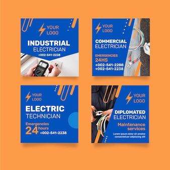Posty na instagramie elektryka przemysłowego