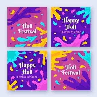 Posty na instagramie festiwalu holi
