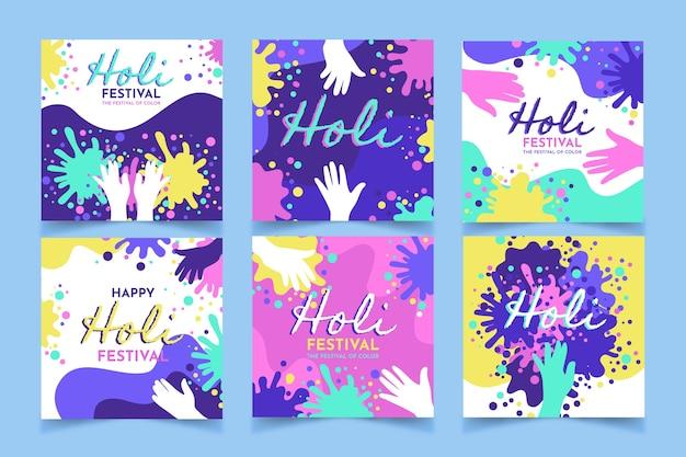 Posty na instagramie holi festival
