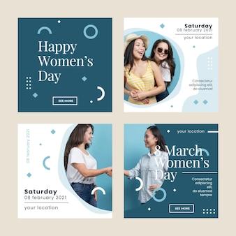 Posty na instagramie z międzynarodowego dnia kobiet