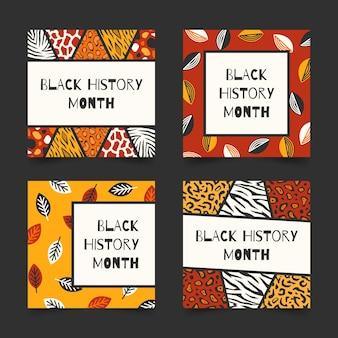 Posty na instagramie z miesiąca czarnej historii