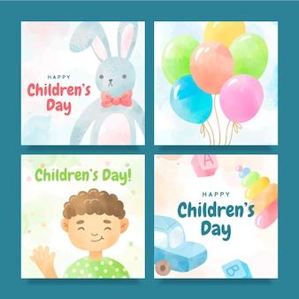 Posty na instagramie z okazji dnia dziecka