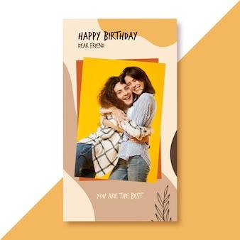 Posty na instagramie z okazji urodzin