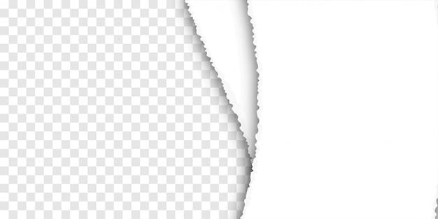 Poszarpane tło papieru