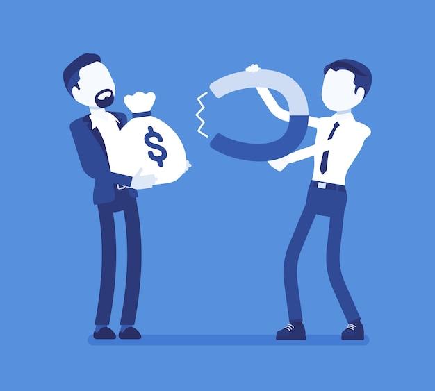 Potężna technika magnetyzmu pieniędzy