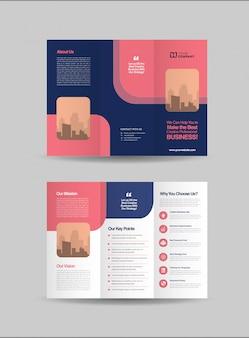 Potrójny projekt broszury