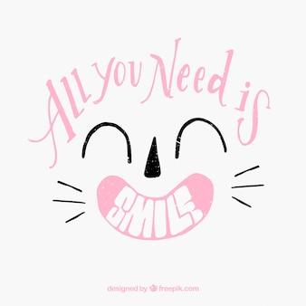 Potrzebujesz tylko uśmiechu