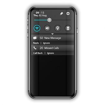 Powiadomienie interfejsu użytkownika aplikacji mobilnej