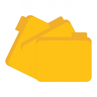 Powiązane z centrum danych żółte pliki