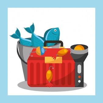Powiązany sprzęt rybacki