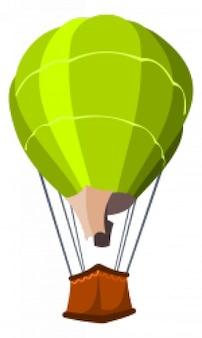 Powietrze balonem