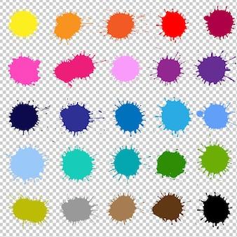 Powitalny kolor samodzielnie z ilustracji gradientu oczek