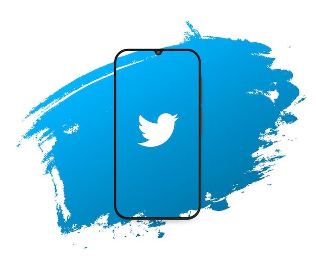 Powitanie na twitterze w mediach społecznościowych