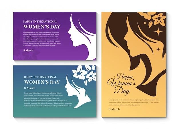 Powitanie szczęśliwy dzień kobiet