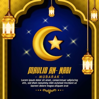 Powitanie urodzinowego proroka muzułmanina
