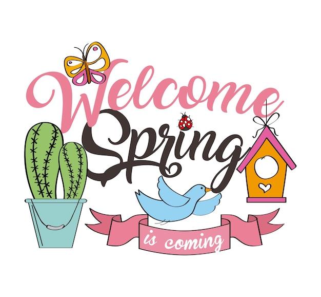 Powitanie wiosny plakat