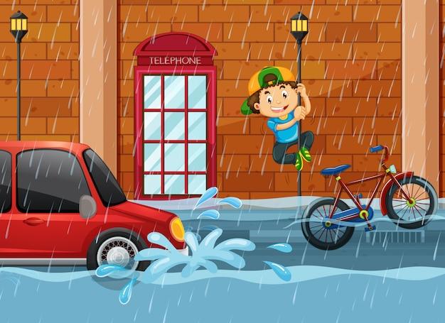 Powódź na streeside