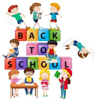 Powrót do koncepcji dzieci w wieku szkolnym