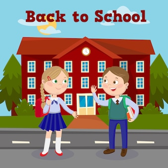 Powrót do koncepcji edukacji szkolnej z budynku szkoły i uczniów.